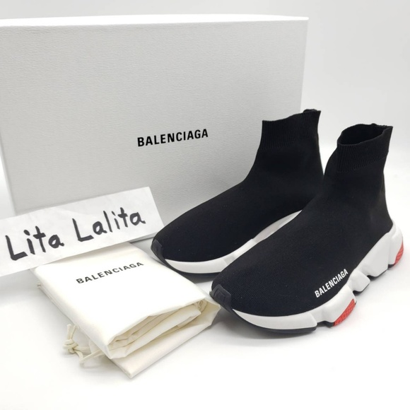 Balenciaga Shoes - Balenciaga Speed Trainers (size 38EU/8US)